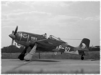 Avia S.91 - Czechoslovak Air Force, 1950 by Sport16ing