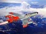 The F-94E, a swept wing Starfire