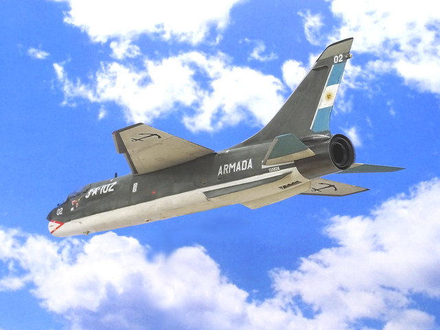 Vought F-8Q Crusader, CANA, 1981