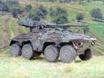 Thyssen-Henschel 8x8 Waffentrager VTS3 Diana 1984