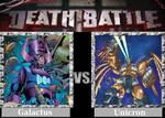 DEATH BATTLE! Idea: Galactus VS Unicron