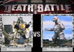 DEATH BATTLE! Idea: Dragonzord VS Mechagodzilla