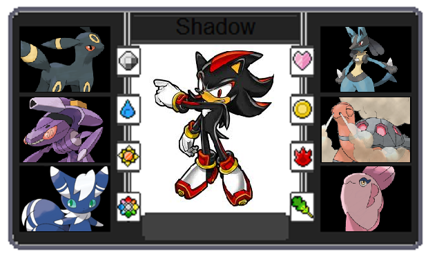 Pokemon trainer card shadow the hedgehog by - Shadow the hedgehog pokemon ...