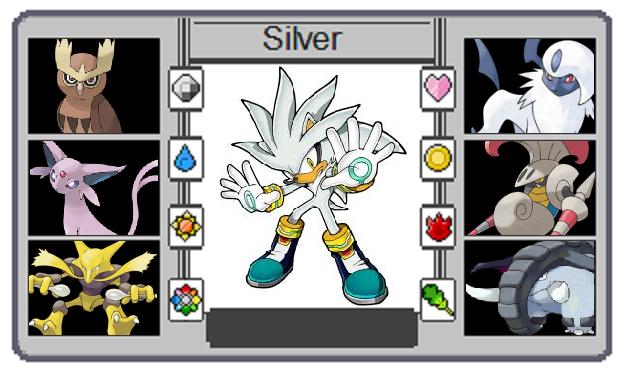 Pokemon trainer card silver the hedgehog by - Shadow the hedgehog pokemon ...