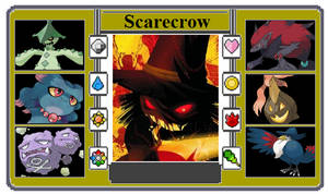 Pokemon Trainer Card - Scarecrow by Powershade117