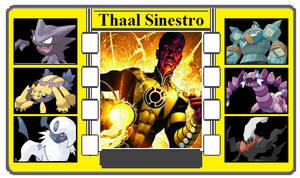 Pokemon Trainer Card - Thaal Sinestro