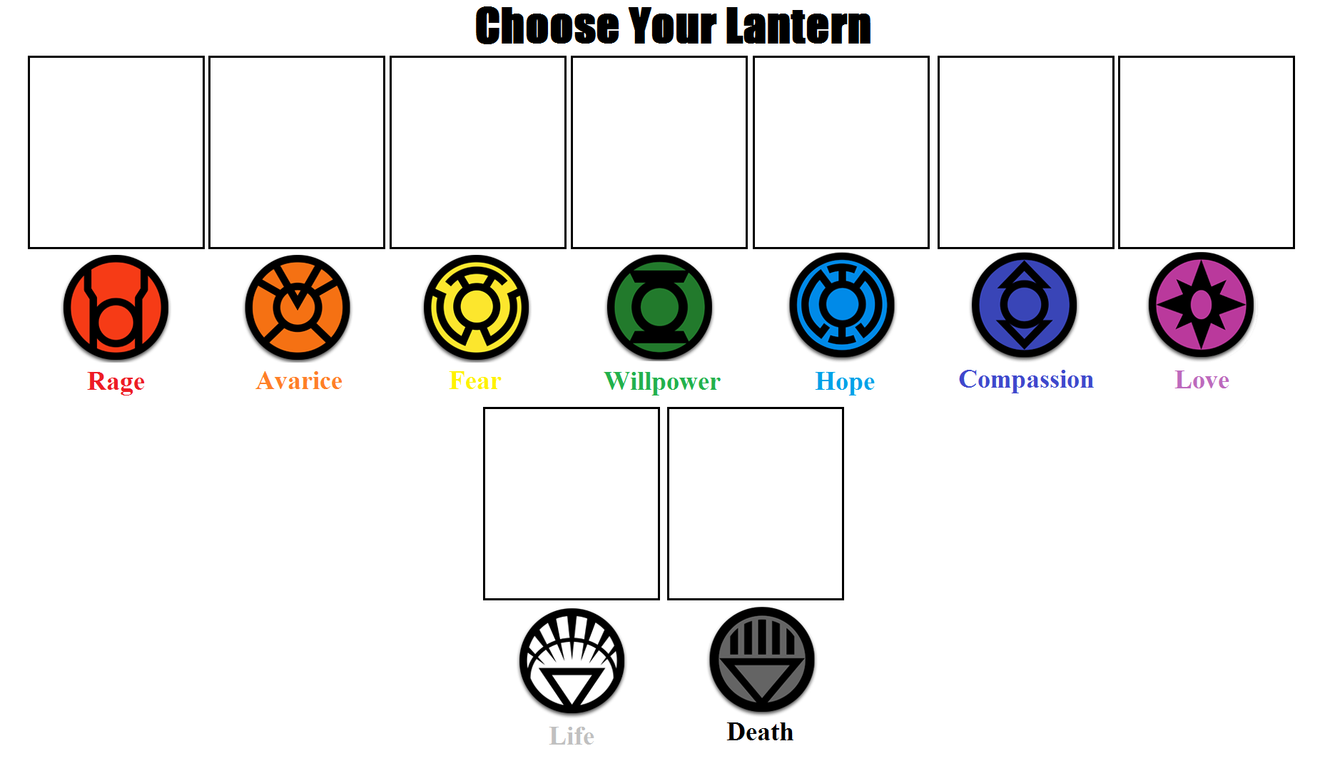 choose_your_lantern_meme__updated__by_powershade117 d7fqro3 choose your lantern meme (updated) by powershade117 on deviantart