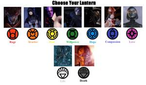 Mass Effect Lanterns