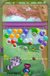 Screenshot - Raccoon Bubble Shooter - 2 by 3coins