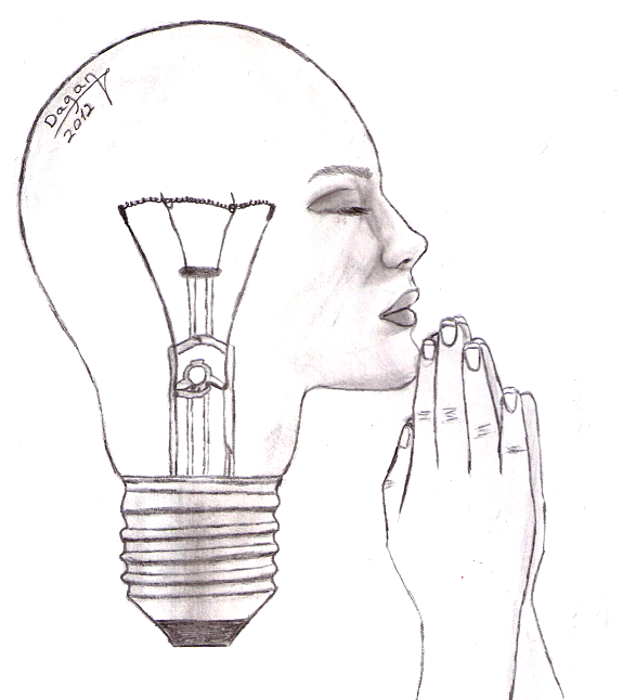 Christmas Light Bulb Outline likewise Drawn 20line 20art 20pinterest also Royalty Free Stock Photography Head Outline Image8257167 together with UNPh33 1 in addition Light Bulb With Drawing Graph Inside Image 6556425. on pencil and a light bulb