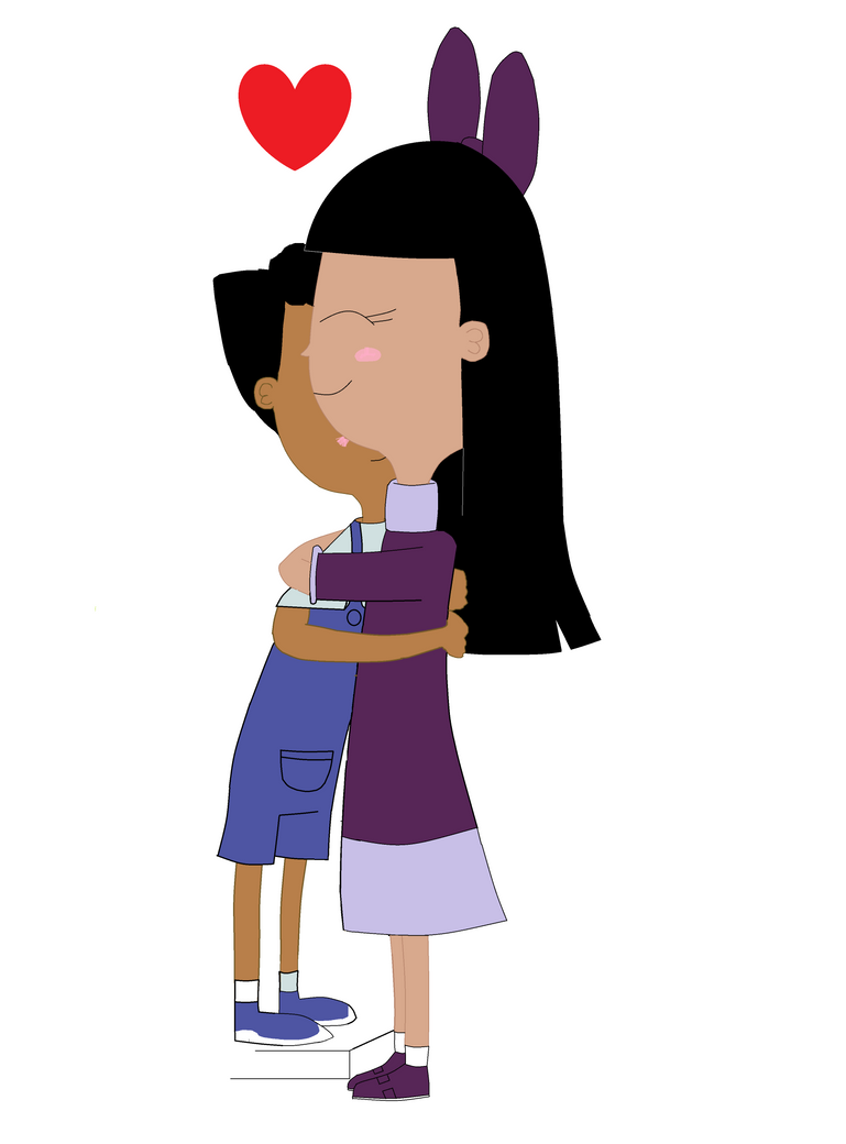 ginger and baljeet a hugging by roryland on deviantart