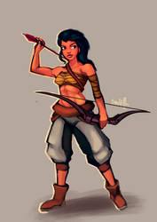 Female Archer WIP