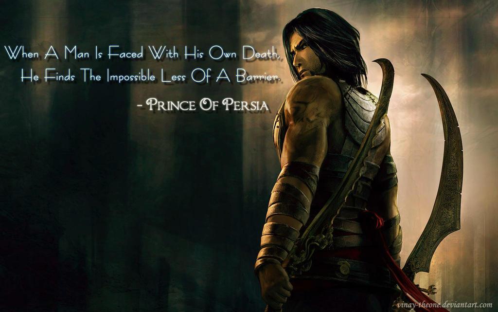 prince of persia quotes quotesgram