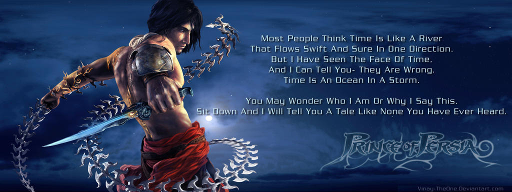 Prince Of Persia Quotes 5 By Vinay Theone On Deviantart