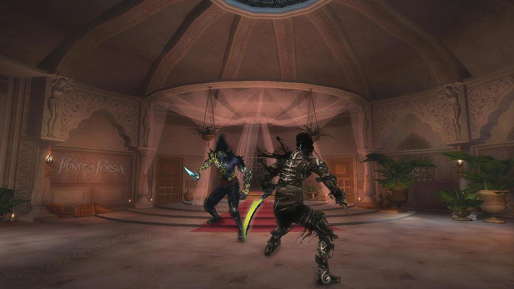 Sand Wraith Vs Dark Prince By Vinay TheOne On DeviantArt