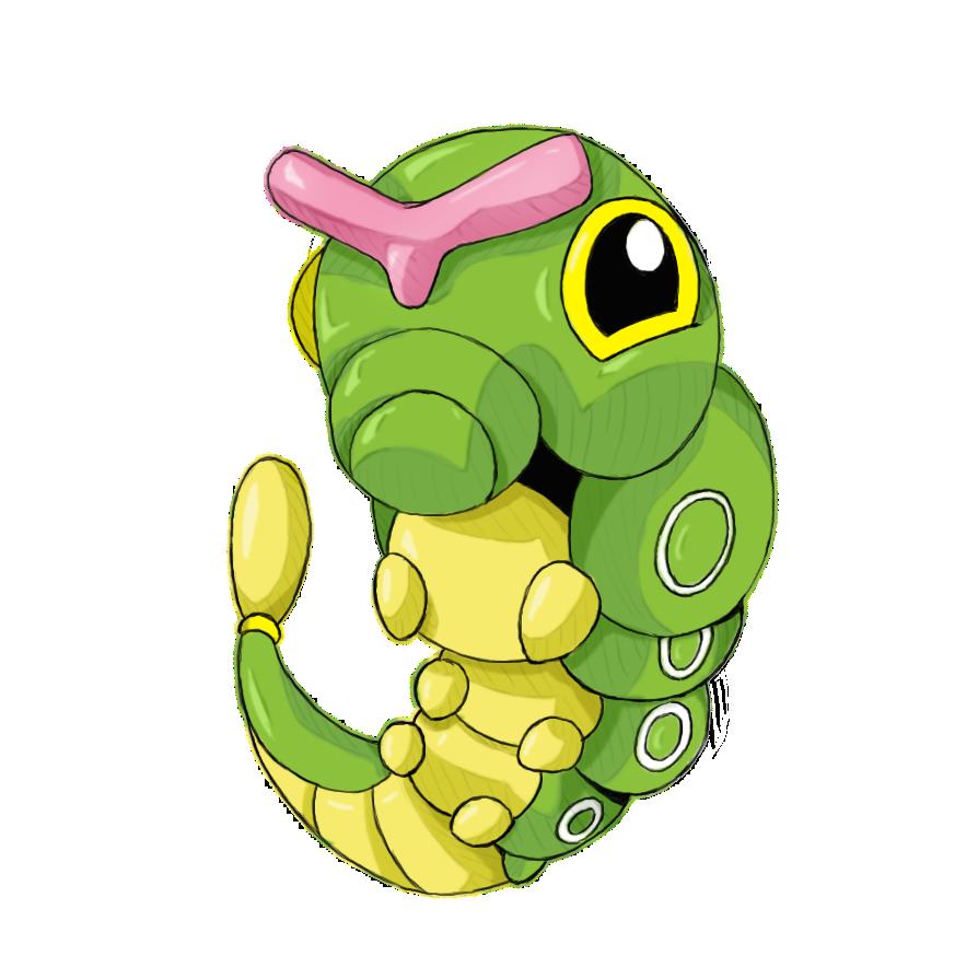 Pokemon Caterpie Evolution Images