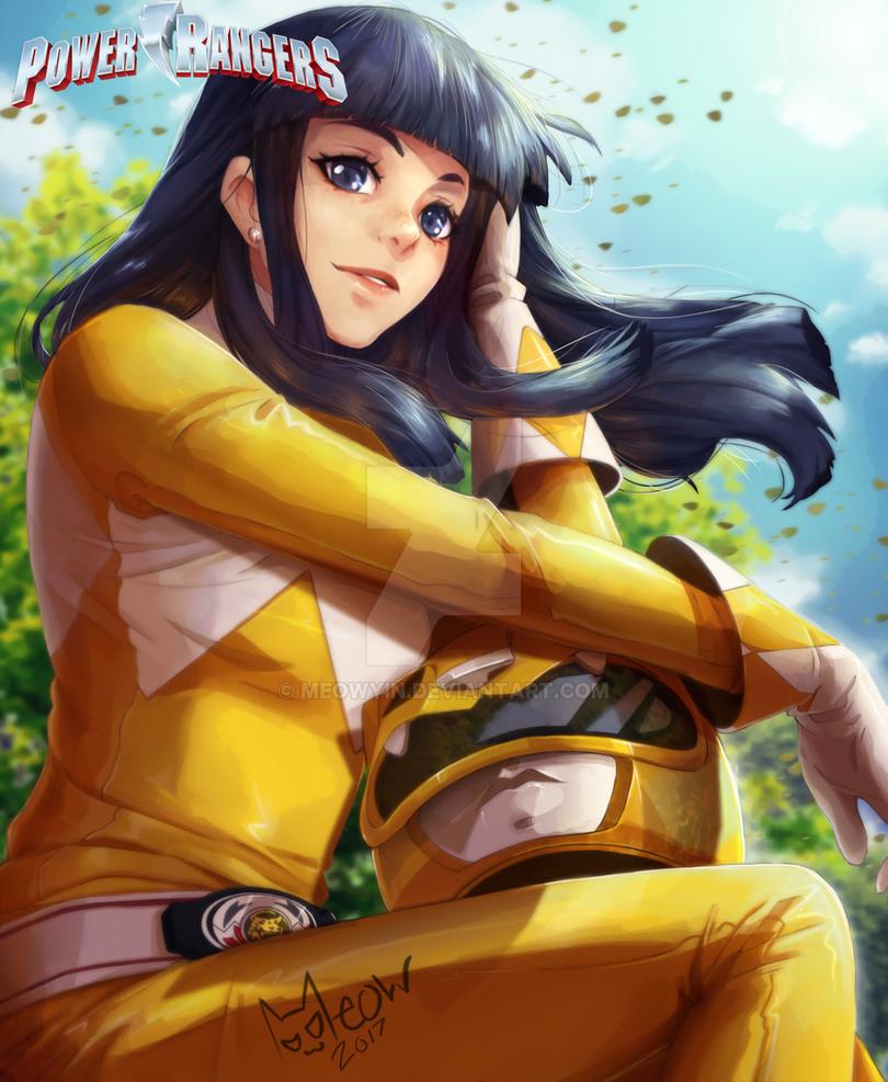 Yellow Ranger Trini by MeowYin