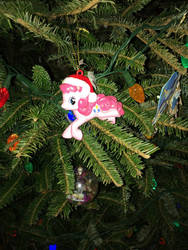Pinkie pie Christmas ornament  by Spyro1267