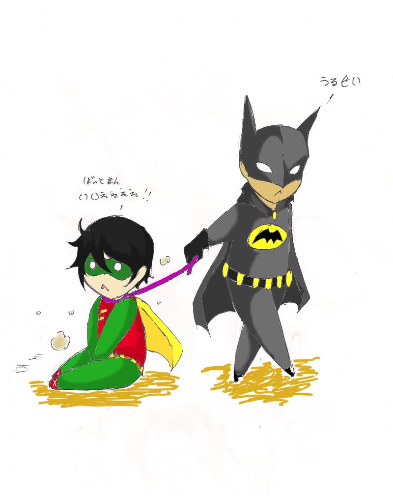 Batman And Robin Cartoon Drawing | www.pixshark.com ...