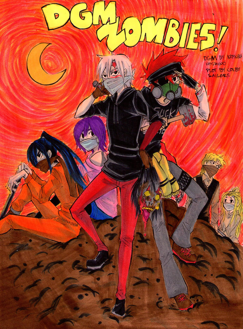 DGM Zombies Cover by The-Butterses