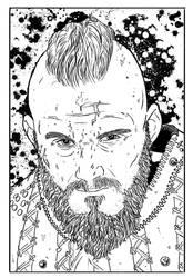 Bjorn (Line Art)