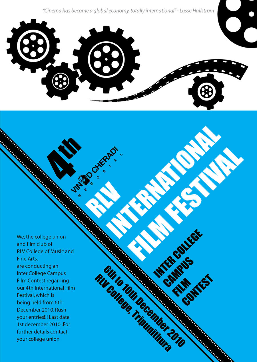 Film Festival Poster Design 2 By Orioncreatives