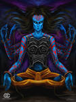Blue god of nothing
