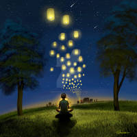 The boy who loved lights