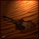 Lonely Desert by Amitab