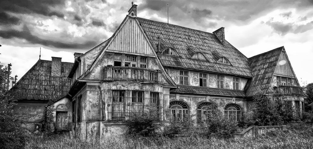 Abandoned House In B W Gorlice Poland By Wojttekk On Deviantart