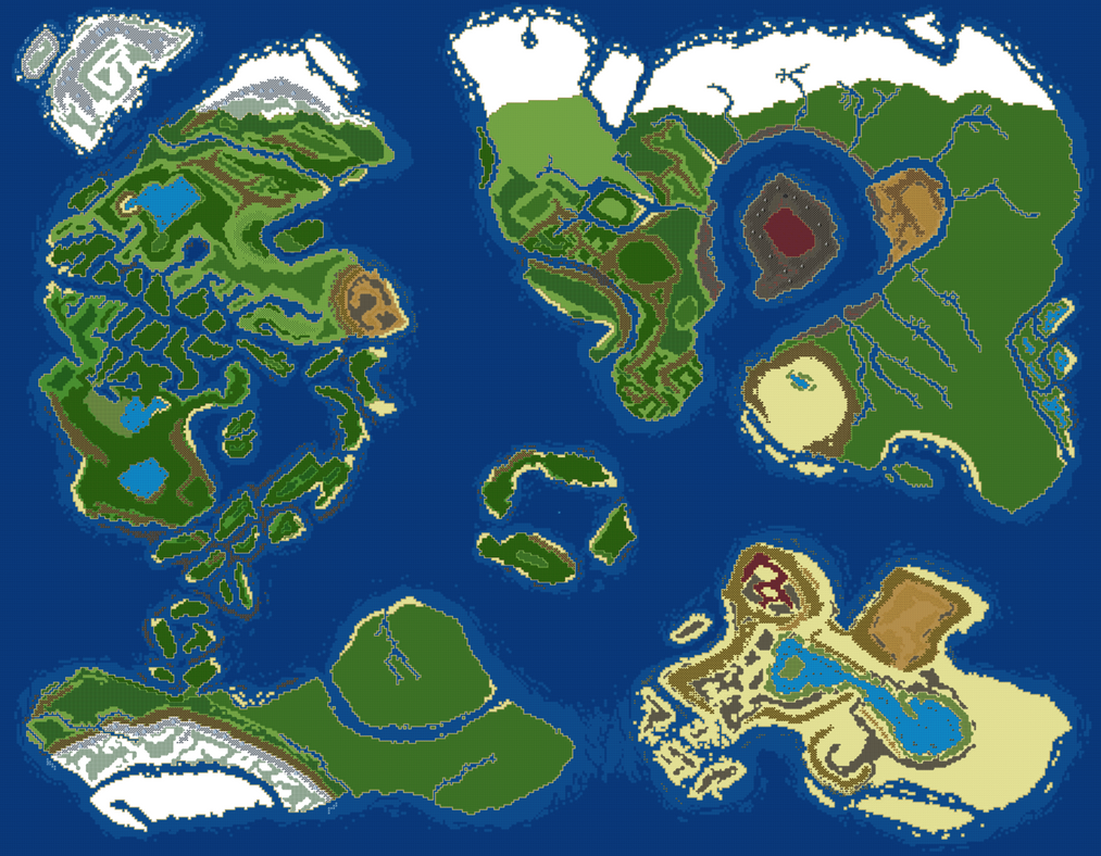 World Map v3 by RaZziraZzi
