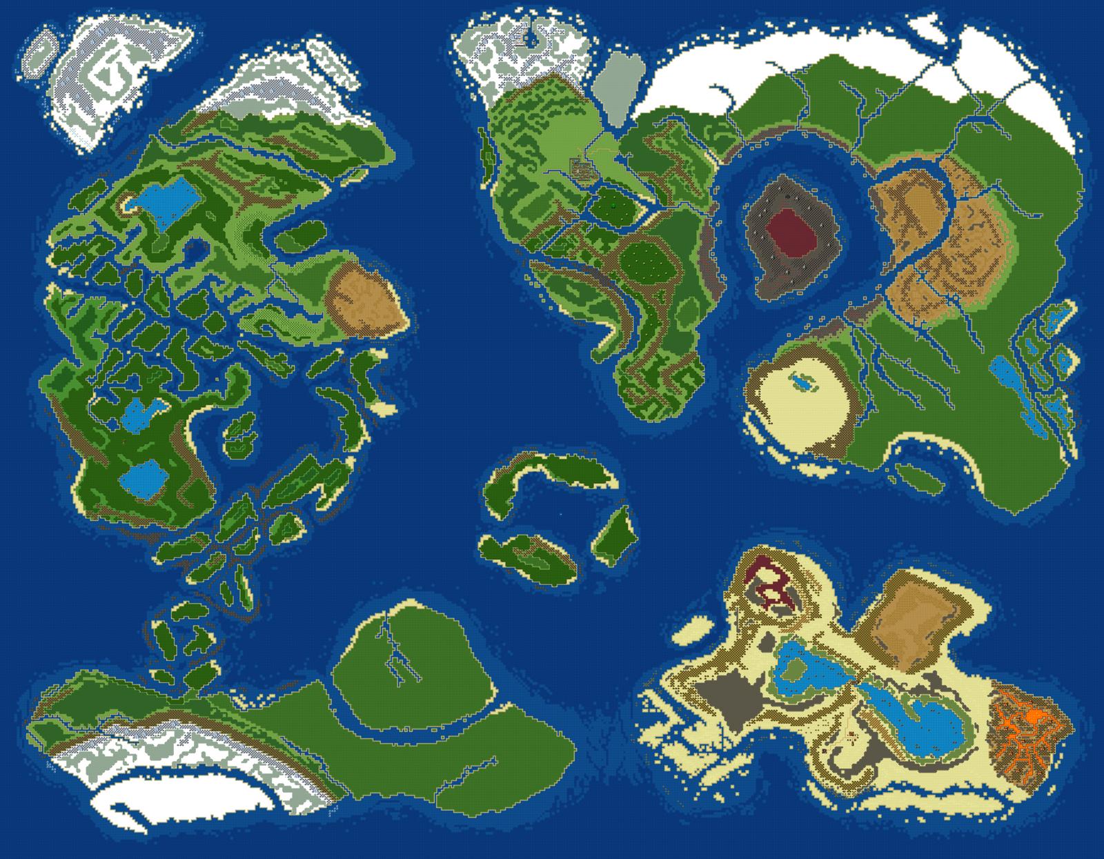 World Map v4 by RaZziraZzi
