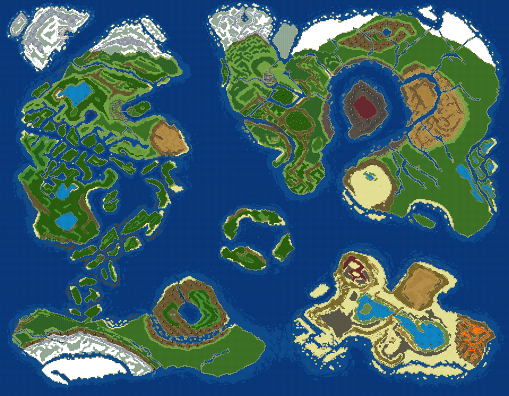 World Map v5 by RaZziraZzi