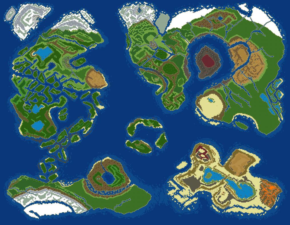 World Map v5 by RaZziraZzi