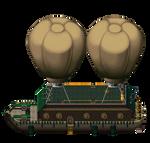 Ork Juggernaut Airship