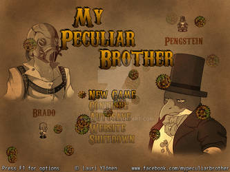 My Peculiar Brother - Title Screen