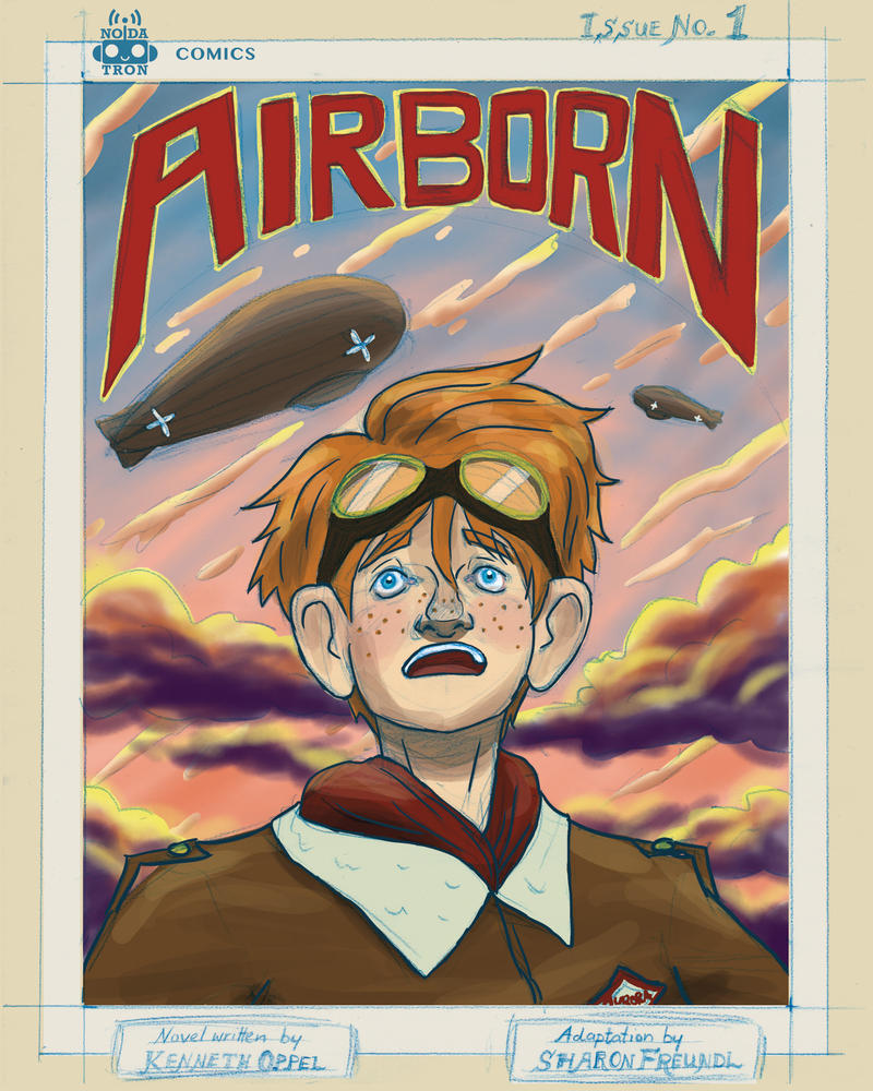 Airborn Graphic Novel Cover by Noidatron