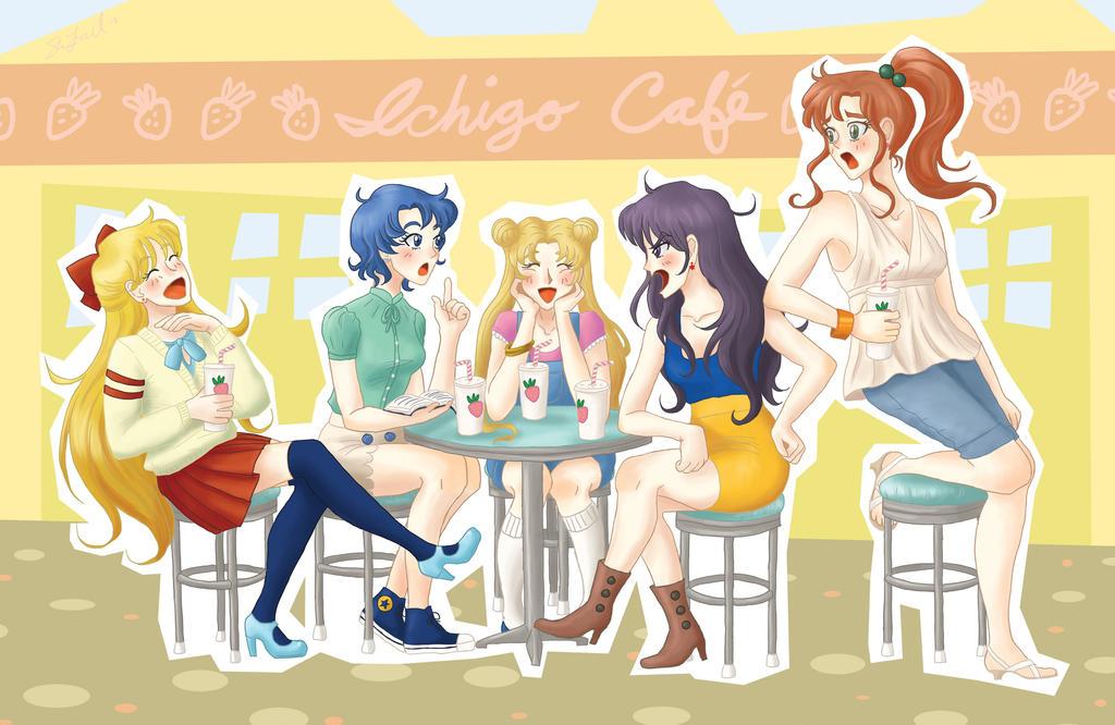 Sailor Moon Cafe by Noidatron