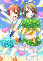 Cheerleaders by shi-k