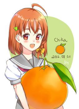 Chika's birthday