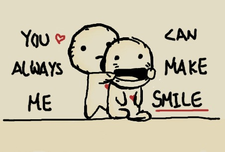 Quotes You Make Me Smile Brilliant You Can Always Make Me Smileclairelawlietteehee On Deviantart