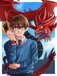 Yu-Gi-Oh! /slifer the sky dragon fanart