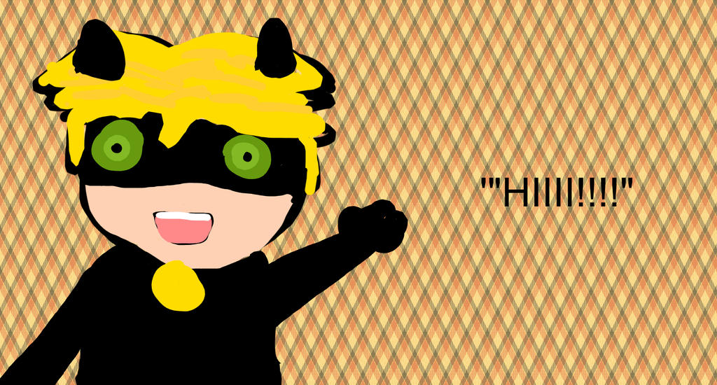 Chibi Chat Noir by Daisy68199