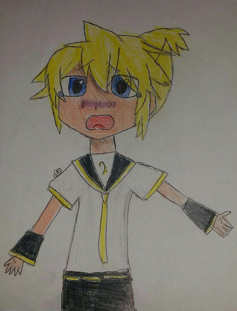 Kagamine Len Being Adorable by Daisy68199