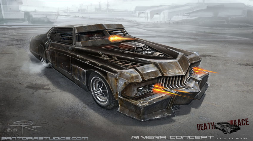 Image Gallery Of Death Race Car