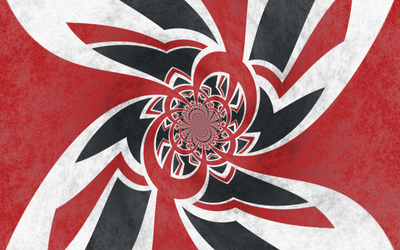 Grunge UK Flag - Psychedelic