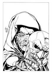 Dr. Doom:The Face of Evil INKS by wrathofkhan