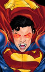 Superman Rage by ryjalon