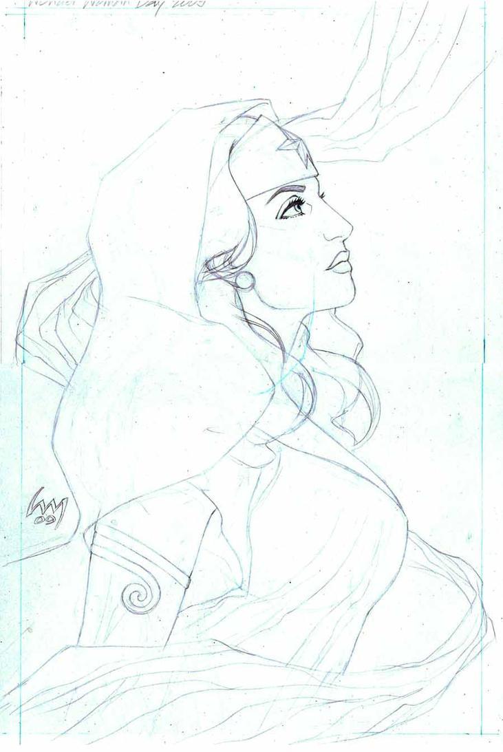 Wonder Woman Day 09 prelims by wrathofkhan
