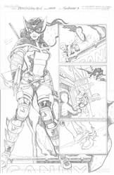 DCUHS 09 Huntress pg 3 PENCILS